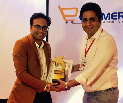 Mahul wins the E-commerce Communication Leader of the Year: IBNS
