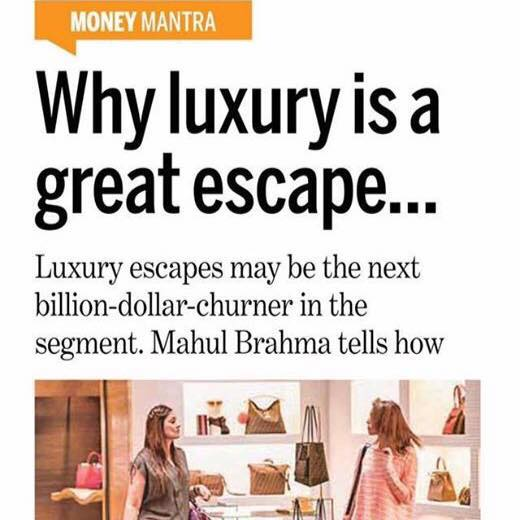 Why luxury is a great escape: DB Post